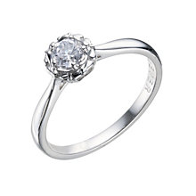 9ct White Gold 1/3 Carat Forever Diamond Ring - Product number 9221670