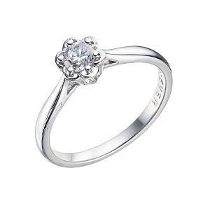The Forever Diamond  - 9ct White Gold Diamond Ring - Product number 9221808