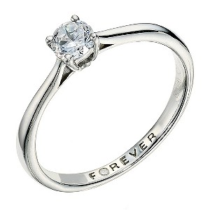 The Forever Diamond 0.33 Carat Certified Diamond Ring - Product number 9222715