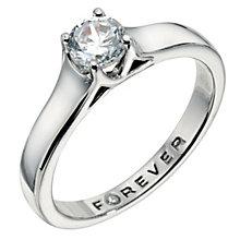 Palladium 1/3 Carat Forever Diamond Ring - Product number 9222847