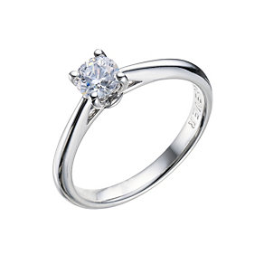 The Forever Diamond - 18ct White Gold Diamond Ring - Product number 9224823