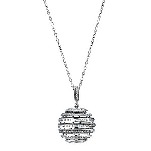 Amanda Wakeley 0.33 carat diamond sphere pendant