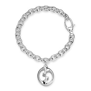 Gucci 1973 sterling silver GG bracelet 18cm - Product number 9226273