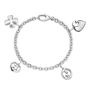 Gucci 1973 sterling silver charm bracelet 18cm - Product number 9226303