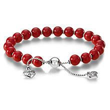 Gucci St Valentino red bead bracelet - adjustable - Product number 9226311