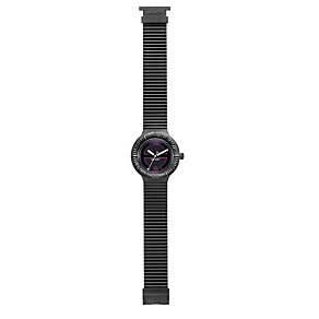 Hip Hop Large Black Strap Watch - Product number 9229442