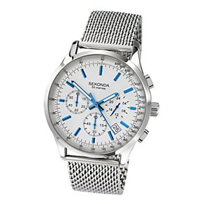 Sekonda Men's Chronograph Stainless Steel Bracelet Watch - Product number 9229973