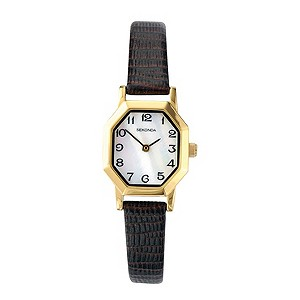 Sekonda Ladies' Gold-Plated Octagonal Watch - Product number 9230165