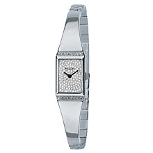 Exclusive Accurist Stainless Steel Stone Set Dial Watch - Product number 9230718