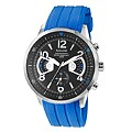 Accurist Men's Blue Rubber Strap Watch - Product number 9230904