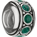 Chamilia sterling silver May birthstone wheel bead - Product number 9232702