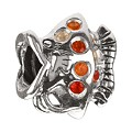 Chamilia sterling silver & orange cubic zirconia angel fish - Product number 9232788