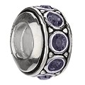 Chamilia sterling silver June birthstone wheel bead - Product number 9233261
