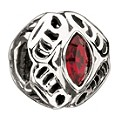 Chamilia - sterling silver January Swarovski birthstone bead - Product number 9233458