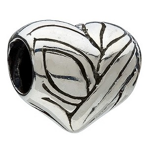 Chamilia - sterling silver Heart bead - Product number 9233512