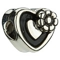 Chamilia sterling silver heart shape box of chocolates bead - Product number 9234160
