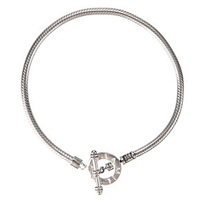 Chamilia silver toggle bracelet 18cm - Product number 9234853