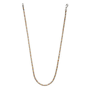 Chamilia sterling silver and gold Terrazzo necklet 18