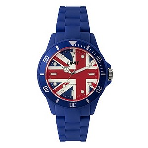 Limit Blue Union Jack Watch - Product number 9242821