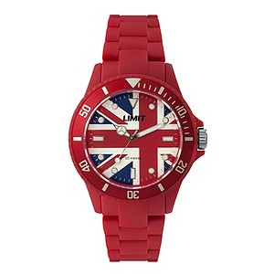Limit Red Union Jack Watch - Product number 9242848