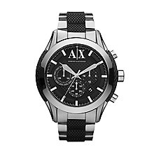 Armani Exchange Grey Strap Watch - Product number 9244514