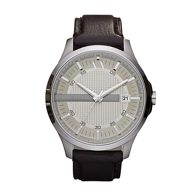 Armani Exchange Men's Brown Strap Watch - Product number 9244557