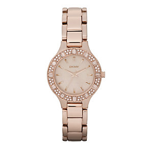 DKNY Rose Gold Bracelet Watch - Product number 9244786