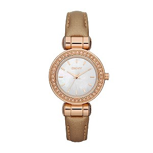 DKNY Ladies' Caramel Strap Watch - Product number 9244956