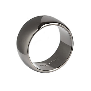 Simon Carter men's gunmetal plain ring - Product number 9245553