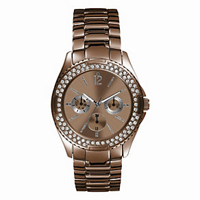 GUESS Ladies' Brown Bracelet Watch - Product number 9246320