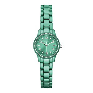 Guess Ladies' Green Bracelet Watch - Product number 9246495