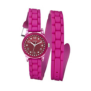 Guess Ladies' Pink Bracelet Watch - Product number 9246525