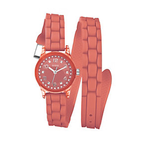Guess Orange Strap Watch - Product number 9246541