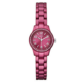Guess Ladies' Pink Bracelet Watch - Product number 9246711