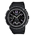 Casio Baby-G Purple Hour Markers & Black Digital Strap Watch - Product number 9248684