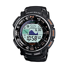Casio Men's Protrek Black Strap Digital Watch - Product number 9248765