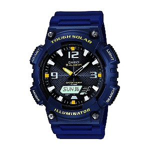 Casio Solar Navy Blue Strap Watch - Product number 9249052