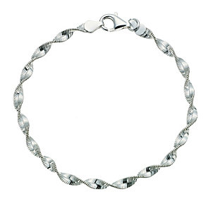 Silver Twist Bracelet - Product number 9252673