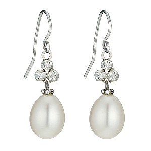 Silver Cultured Freshwater Pearl Earrings - Product number 9252800