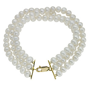 Jubilee cultured freshwater pearl bracelet - Product number 9273085