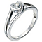 Love's Embrace 9ct white gold 30pt diamond ring - Product number 9279083