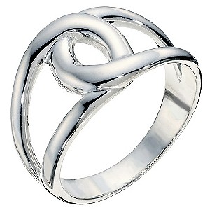 Silver Loop Ring Size N - Product number 9279865