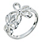 Silver Flower Ring Size N - Product number 9279903