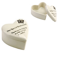 Special Memories Bridesmaid Trinket Box - Product number 9284222