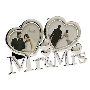 Special Memories Mr. & Mrs. Amore Photo frame - Product number 9284389