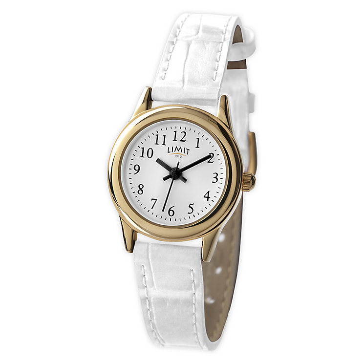 Limit White Strap Watch - Product number 9285482