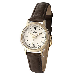 Limit Brown Strap Round Dial Watch - Product number 9285512