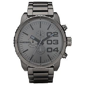 Diesel XL Double Down 51 Gunmetal Men's Bracelet Watch - Product number 9286446
