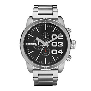 Diesel Men's Double Down 51 Stainless Steel Bracelet Watch - Product number 9286454