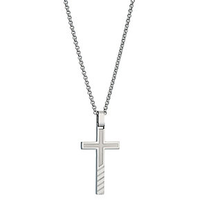 Stainless Steel Cross Pendant - Product number 9288902
